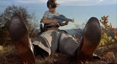 Jerry Mathers in The Trouble With Harry, filmed in Craftsbury, Vermont.