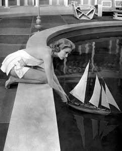 Grace Kelly in High Society, filmed in Newport, Rhode Island.