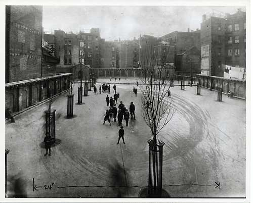 Stillman Street Park, North End, Boston, undated. Courtesy of Boston City Archives.