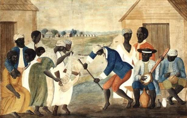 A black king's election was an occasion for dancing. Creative Commons