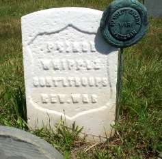 Prince Whipple's grave in Portsmouth, N.H.