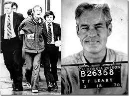 Timothy Leary, arrested in 1965