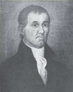 Portrait of Ezra Lee