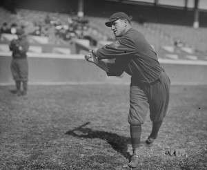 1914 Braves left fielder, Joey Connolly, the pride of North Smithfield, R.I. Photo courtesy the Library of Congress.