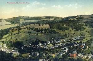 View of Woodstock, Vt., from Mount Tom