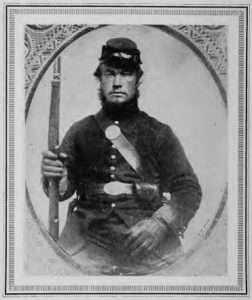 Private William Scott, Groton, Vermont's Sleeping Sentinel. (Abraham Lincoln and the Sleeping Sentinel of Vermont)