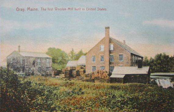 Mayall Mill Postcard
