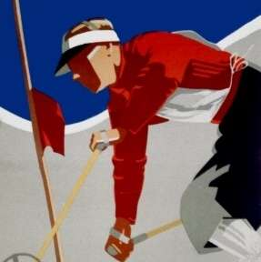 New England Skiing poster thumb