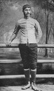 Walter Camp as a Yale football player.
