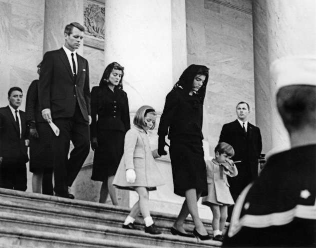 First Lady Jacqueline Kennedy and Children Depart U.S. Capitol. Photo courtesy John F. Kennedy Library and Museum.
