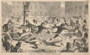 Class Day at Harvard University, 1958, by Winslow Homer