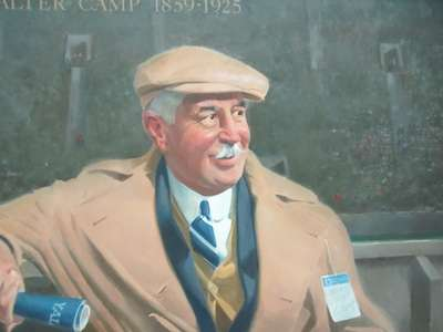 Walter Camp, the Father of Modern Football. National Portrait Gallery.