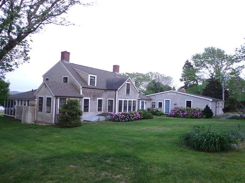 Paul Cuffe's home in Westport, Mass.