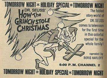 How the grinch became a tv star new england historical society