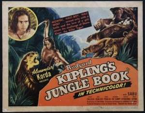 Kipling wrote the Jungle Books in Vermont.