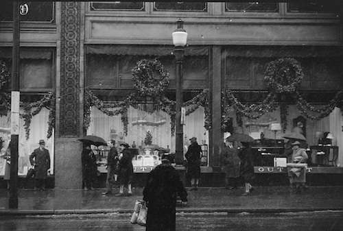 Flashback Photos: When Downtown Department Stores Spelled Christmas - New England Historical Society