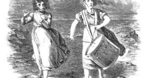 Rebecca and Abbie Bates. Illustration from St. Nicholas Magazine for Girls and Boys.