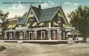 Postcard of the Abercorn House