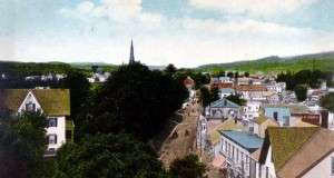 Postcard of richford, Vt.