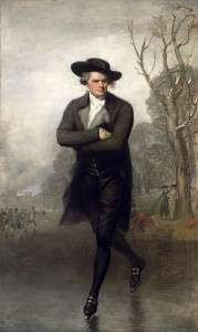 The Skater by Gilbert Stuart