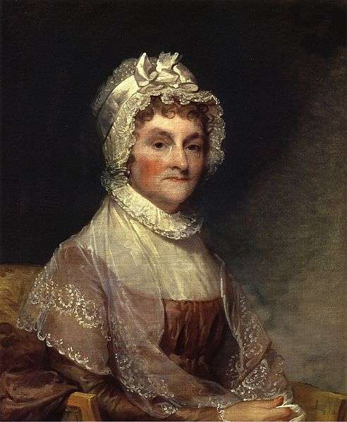 the struggle of abigail adams While they had known each other as small children, the courtship of abigail smith and john adams began in her home in 1762 john's friend, richard cranch, was courting abi gail's sister at the time.