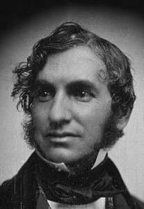 Henry Wadsworth Longfellow around 1850