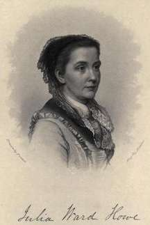 Julia Ward Howe, author of The Battle Hymn of the Republic