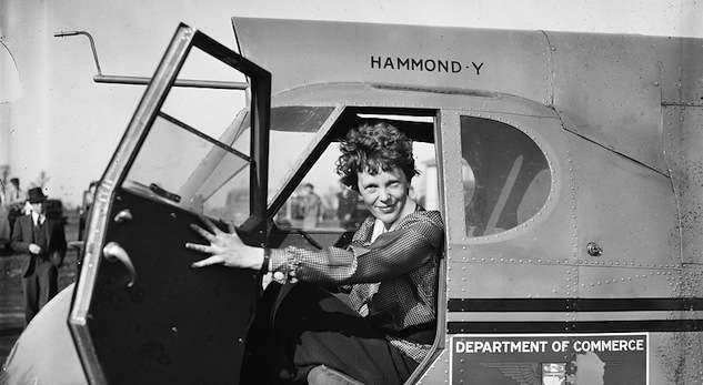 Amelia Earhart, Library of Congress photo