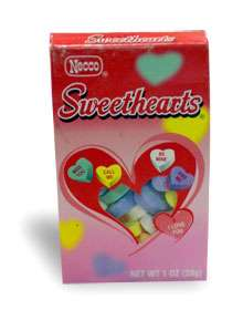 A Sweet Story About Conversation Hearts New England