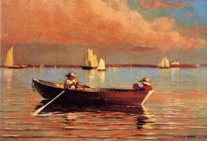 Gloucester Harbor, Winslow Homer