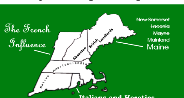 How the New England State Names Came to Be