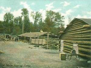 A_Maine_Logging_Camp