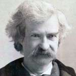 Mark Twain Refuses To Succumb to Silken Dainties