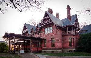 The Mark Twain House in Hartford