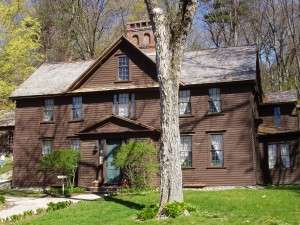 The Alcott home in Concord