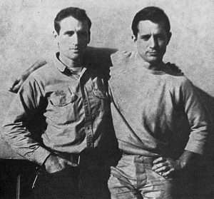 Neal Cassady and Jack Kerouac