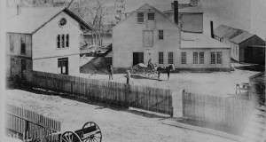 Flashback Photo: Sam Slater Mill, 1870