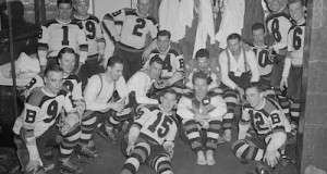 Flashback Photo: The Bruins Chaperone the Mug Back to Boston, April 16, 1939