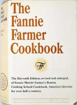 The 11th edition of the Fannie Farmer Cookbook.
