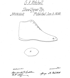 Coppertoe shoes patent