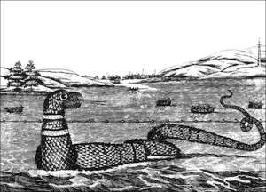 The Gloucester Sea Serpent of 1817