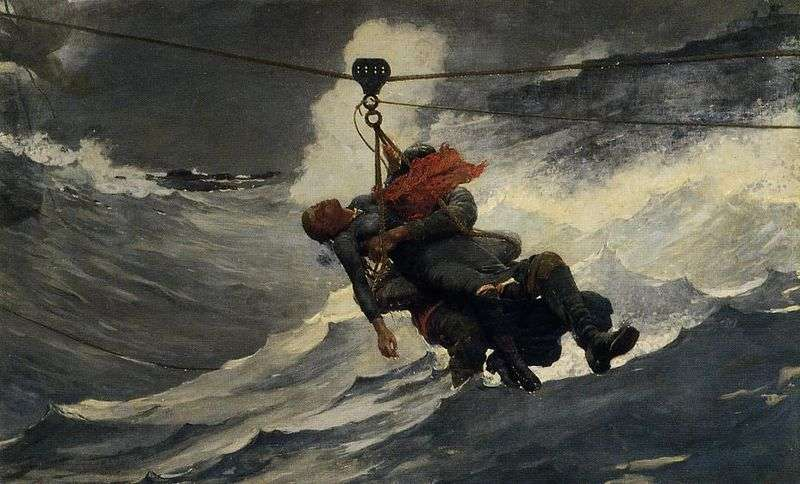 The Life-Line, by Winslow Homer