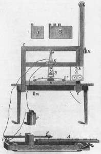 the original Morse telegraph
