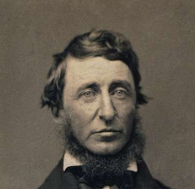 Henry David Thoreau in 1856