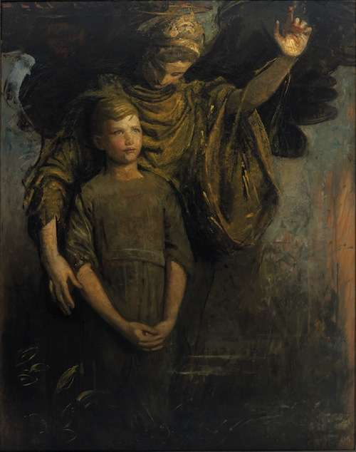 Abbott_Handerson_Thayer_-_Boy_and_Angel_(1918)
