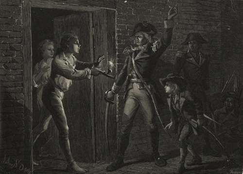How Ethan Allen wanted the capture of Fort Ticonderoga to be remembered