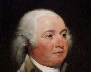 A youngish John Adams