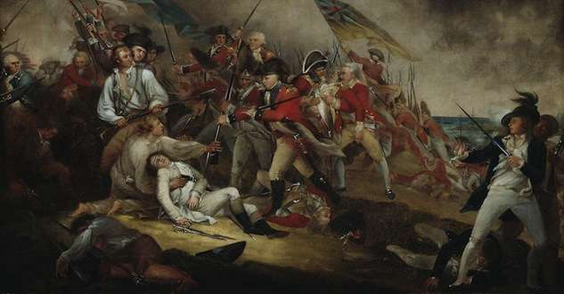 The Death of General Warren at the Battle of Bunker Hill by John Trumbull.