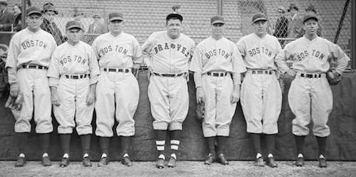 Worst team in baseball history. Photo courtesy Boston Public Library, Leslie Jones Collection.