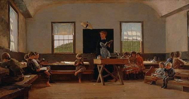 Country School by Winslow Homer